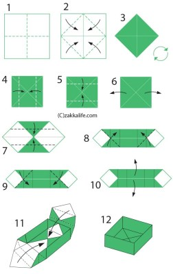 Origami-Box-Directions