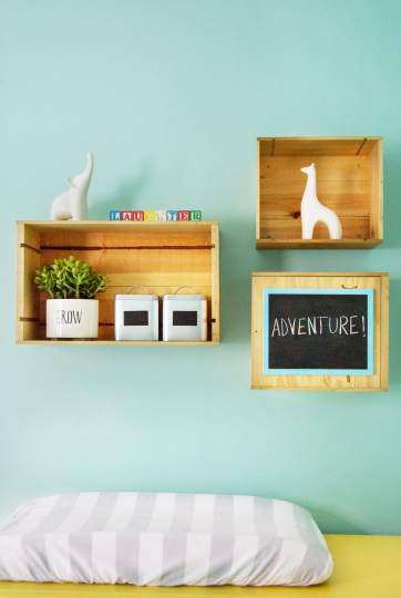 Whimsical Nursery designed by Chanath W Interiors
