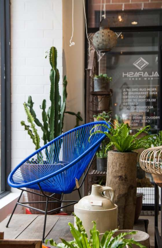 Acapulco chair at Alapash New Home