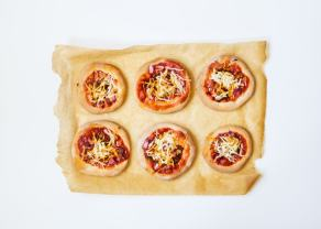 BBQ Mini Pizzas