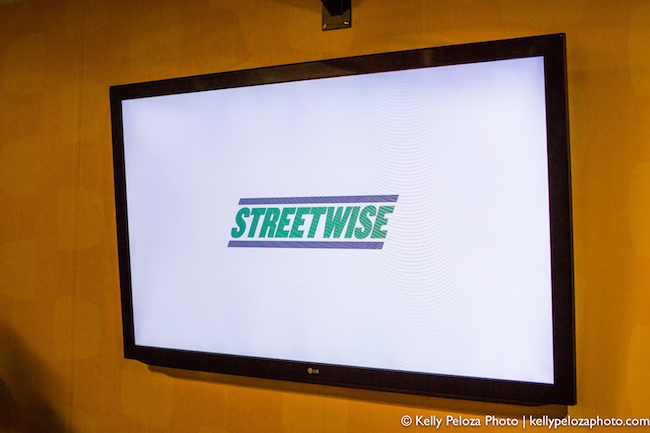 Kelly Peloza photo event photography at the 2016 Streetwise Gala at the Museum of Broadcast Communications