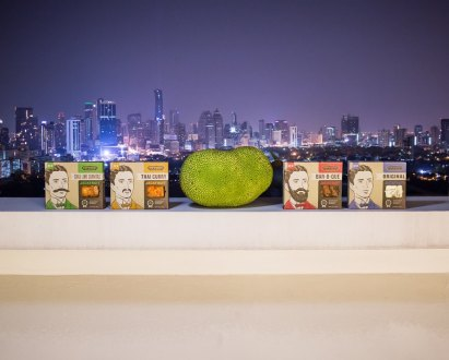 Photography for Upton's Naturals on location in Thailand to promote their seasoned jackfruit products