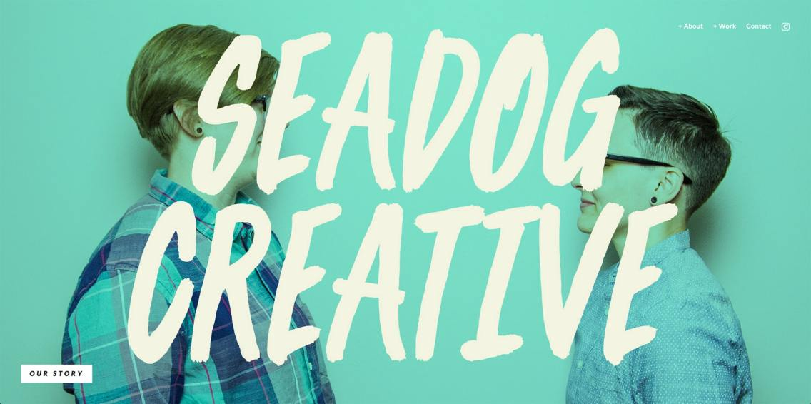 Photography for Seadog Creative's website. Web design ©2015 by Andi Woodward/Seadog Creative, LLC