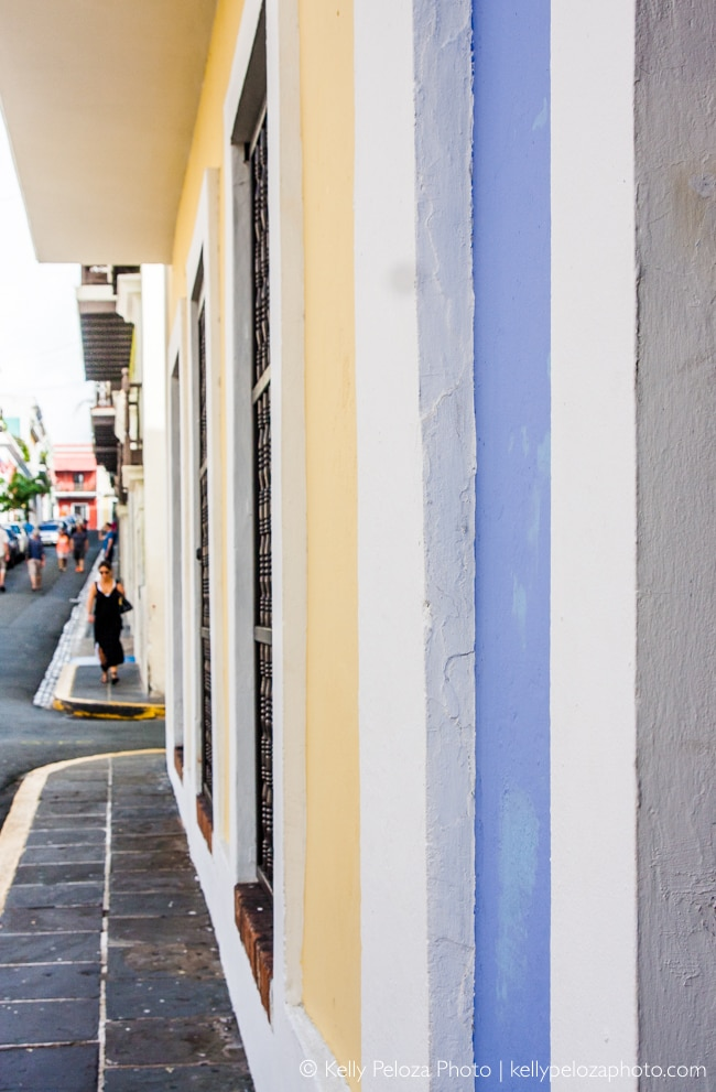 Colorful Old San Juan Architecture | Kelly Peloza Photo blog