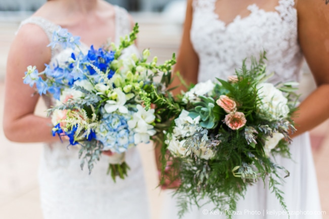 Brides at Monona Terrace wedding