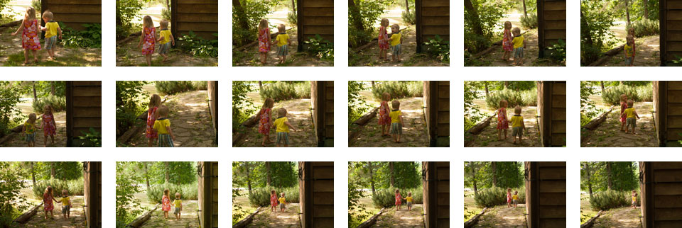 Take lots of photographs of your kids