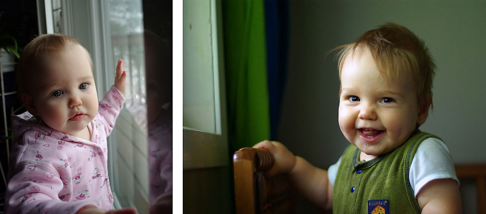 Find the best light for photographing your kids