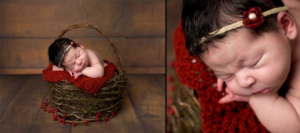 Natural newborn photos, rustic, organic props