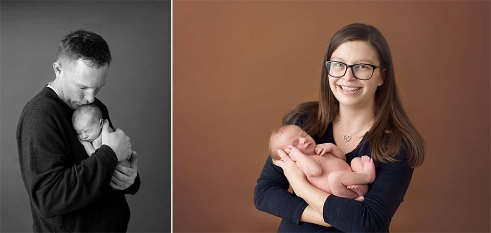 Newborn baby family images, Lake Simcoe newborn photography