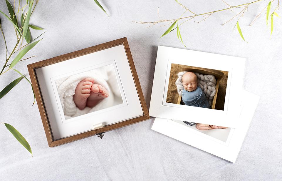 Custom keepsake photograph box