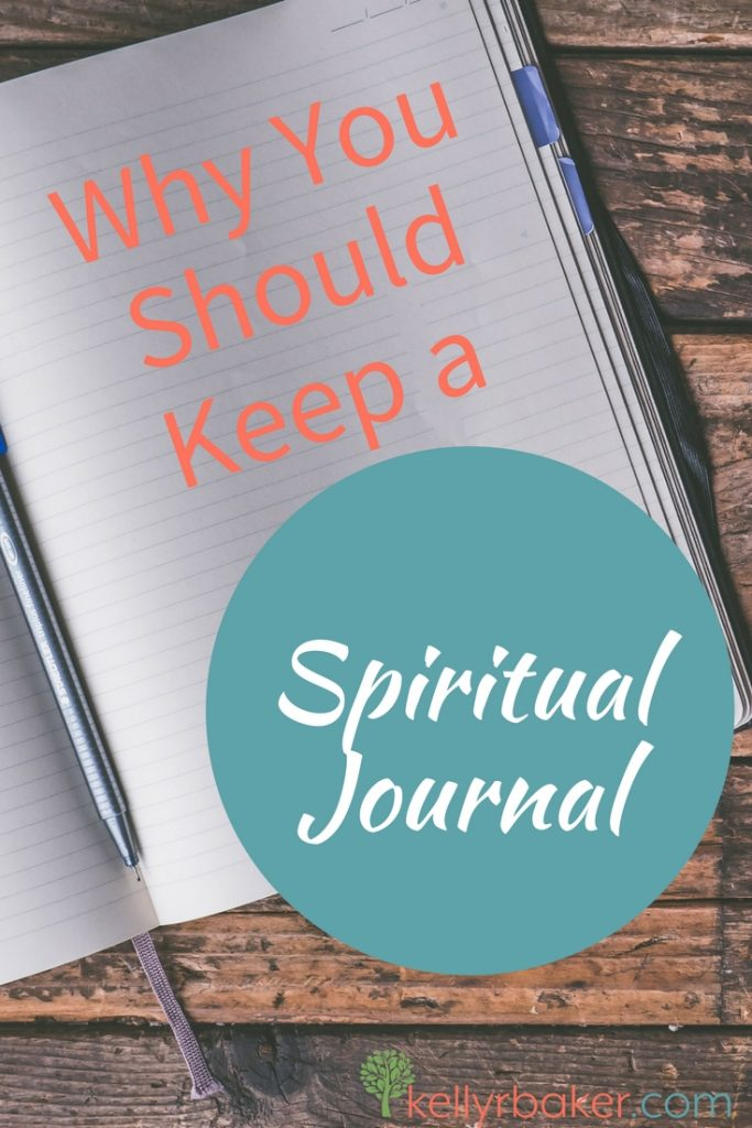 Imagine how much is being lost if you don't record what is going on in your relationship with God. In this post, I share how and why to keep a spiritual journal. #thrive #spiritualgrowth #journal #history #godtime #dailytime #quiettime #devotions #notebook #diary