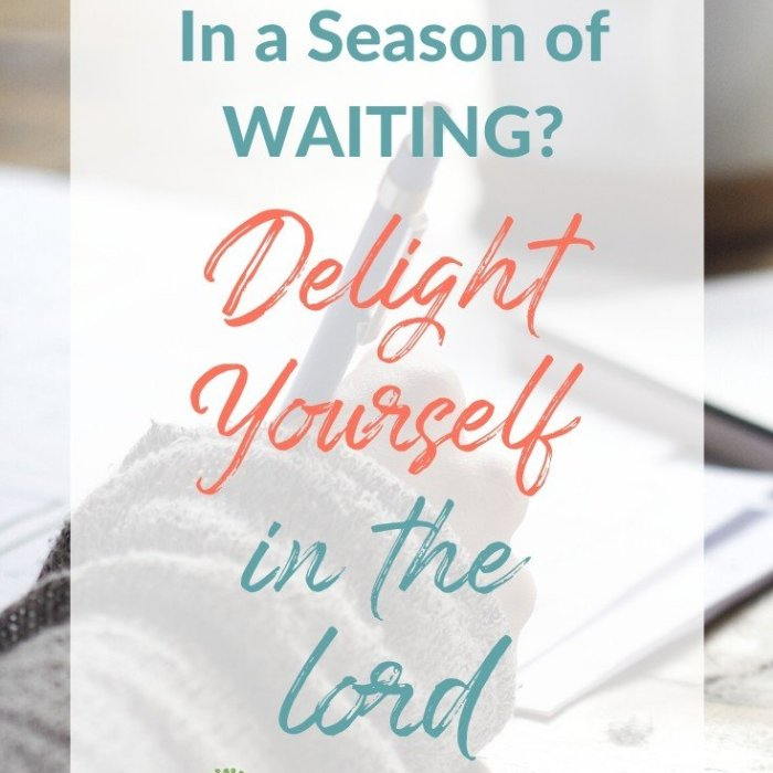 Delight Yourself in the Lord: Everything You Need to Know