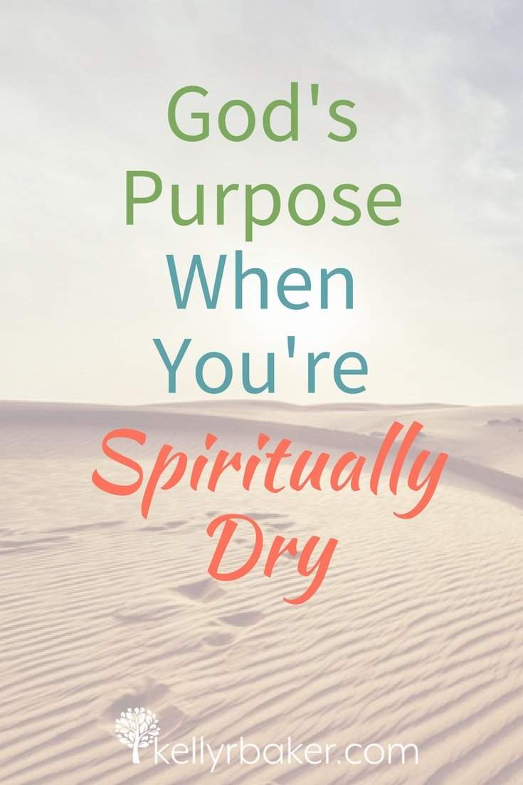 When was the last time you felt spiritually dry? Not just dry, but *really* thirsty? God can use times like that for His purpose. Do you know what it is? #thrivinginchrist #spiritualtruths #wilderness #dry #thirsty #purpose
