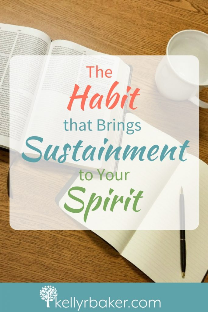 Imagine if you could see what your spirit looks like. In what condition do you think it is? We need to care about the sustainment of our spirit. Read on to find out how and why. #habit #sustainment #spiritman #thrive #thriving #spiritualgrowth #manna #childrenofIsrael #dailytime