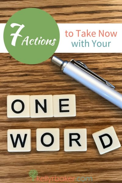 Having a One Word can be intertwined in the stages and seasons in which we walk with God. Here are some practical ways to apply your One Word to your life. #thrive #oneword365 #oneword #spiritualgrowth #goals #dailytimewithGod