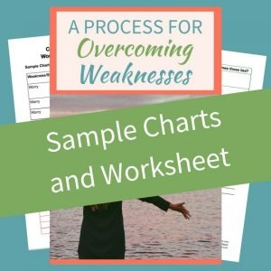 We probably all have weaknesses or sins that we fall into frequently. Imagine knowing the simple steps to overcome them. In this post I'm going to show you how, and I have included a free worksheet to help. #thrive #weaknesses #overcoming #spiritualgrowth #biblicaltruths #help #victory