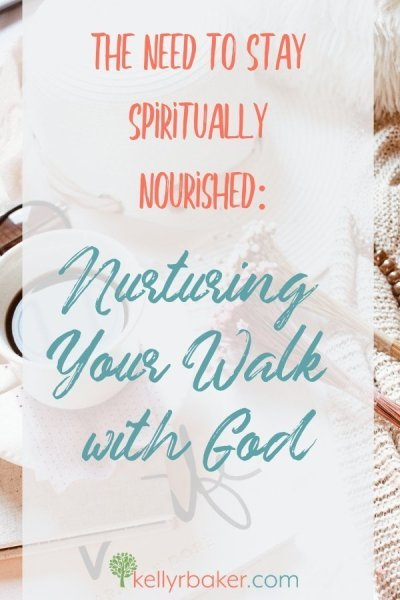 "Staying spiritually nourished is critical for everyone who follows God. Our spirit man needs ""spiritual food."" Here's why. #ThrivingInChrist #BibleStudy #DailyTime #GodTime #QuietTime #HelloMornings #spiritualgrowth"