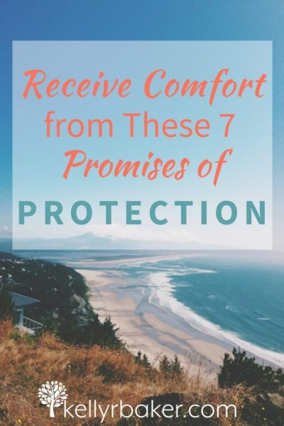 God comforts us in all our affliction. Check out these promises of divine protection from the Word of God and receive comfort from them. #comfort #protection #biblicaltruths #spiritualgrowth #thrive #storms #promises