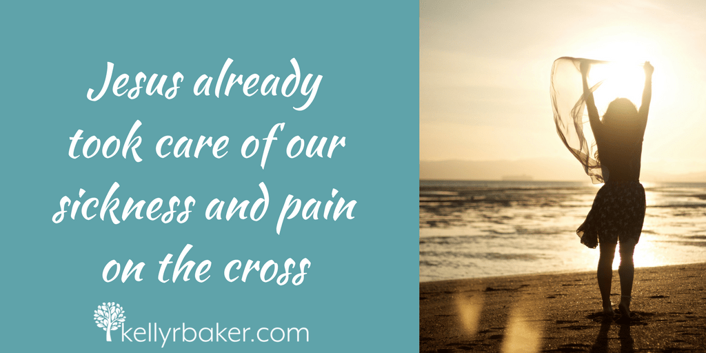 Do you need healing? Jesus took care of our sickness and pain on the cross. Miracles of healing still happen today. God's healing power is for you!