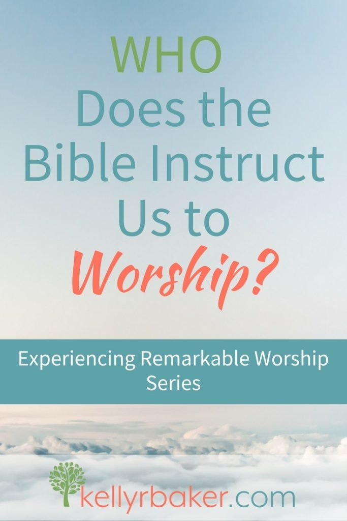 To experience remarkable worship, we need to start with asking who the Bible instructs us to worship. Not knowing who God is can be a hindrance. #worship #god #jesus #biblicaltruths #spiritualgrowth