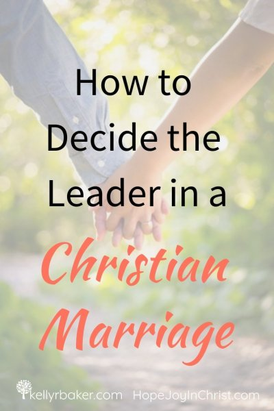 Who is the leader in a Christian marriage? Join us for this post packed with real-life examples and solid biblical truths to practically apply God's design for your marriage. #thrive #marriage #relationships #husband #wife #leader #spiritualgrowth #fixmarriage
