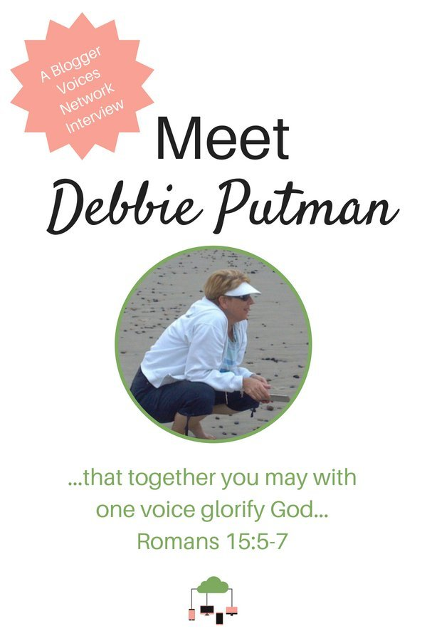 Join us for a Blogger Voices Network Member Interview of Debbie Putman. Find out how God brought beauty from ashes into her life and glean from her wisdom. #BloggerVoicesNetwork #BVNetworkParty #ThrivingInChrist #UnchartedWater #interview #blogger #wisdom #spiritualgrowth #Christian #blog
