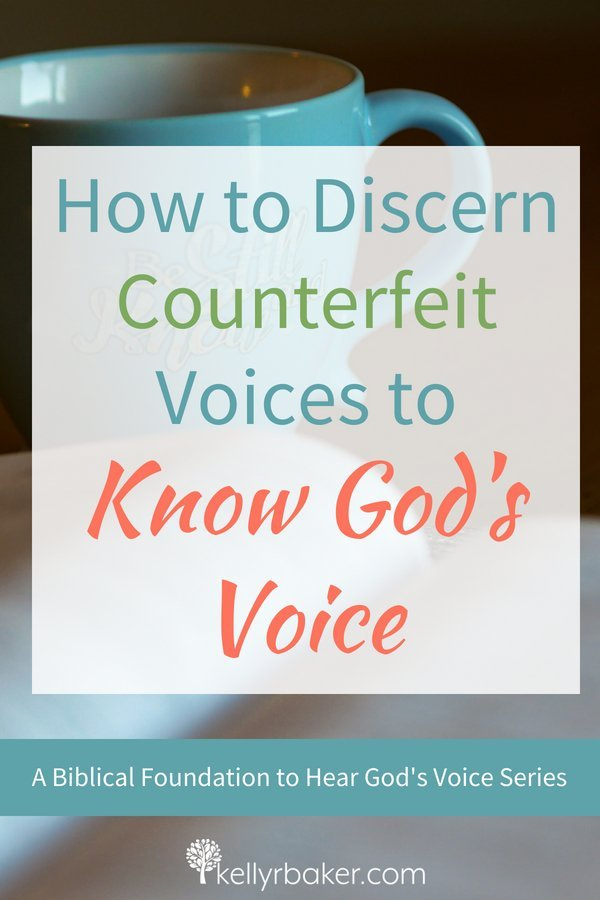 When we pray, we'll hear one of three voices: our voice, the devil's, or God's. Each have their own characteristics. Discerning them help us to know God's voice. #ThrivingInChrist #spiritualgrowth #dailytime #dailybread #hearingfromgod #godsvoice #discernement #quiettime #godtime #counterfeit #biblicaltruths #bible #verses #versesonhearinggodsvoice