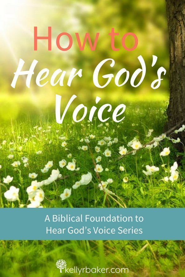 Would you like to hear God's voice on a regular basis? Our Heavenly Father is calling us to know His voice to obey it. Here's how. #ThrivingInChrist #Godsvoice #hearingfromGod #hearGodsvoice #spiritualgrowth #dailytime #GodTime