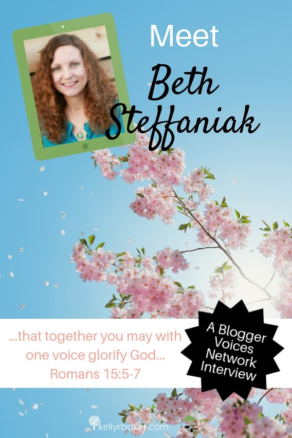 Be encouraged by this interview of Blogger Voices Network member Beth Steffaniak! Discover how God is using her to minister to messy marriages. #BloggerVoicesNetwork #BVNetworkParty #ThrivingInChrist #MessyMarriage #interview #blogger #wisdom #spiritualgrowth #Christian #blog