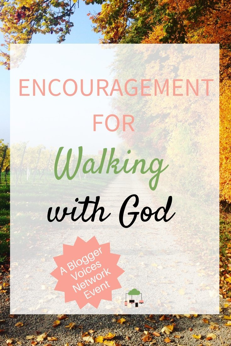 Imagine finding just what you need to give your faith a boost while walking with God. I know that's what I want! But I know my heart's not always where it needs to be. It needs daily strengthening. Maybe yours does, too? #BloggerVoicesNetwork #walkingwithGod #Bible #Christian #faith #ThrivingInChrist #OnlineEvent #strength #GodTime #Biblestudy #devotional #blogger #giveaway #GodlyAdventure