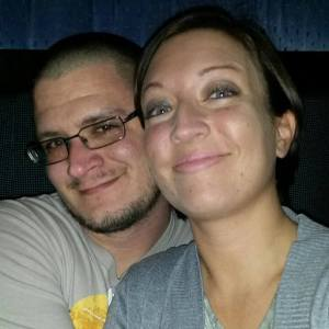 Meghan Weyerbacher with her husband