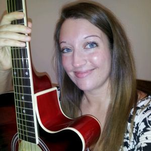 Meghan Weyerbacher with guitar