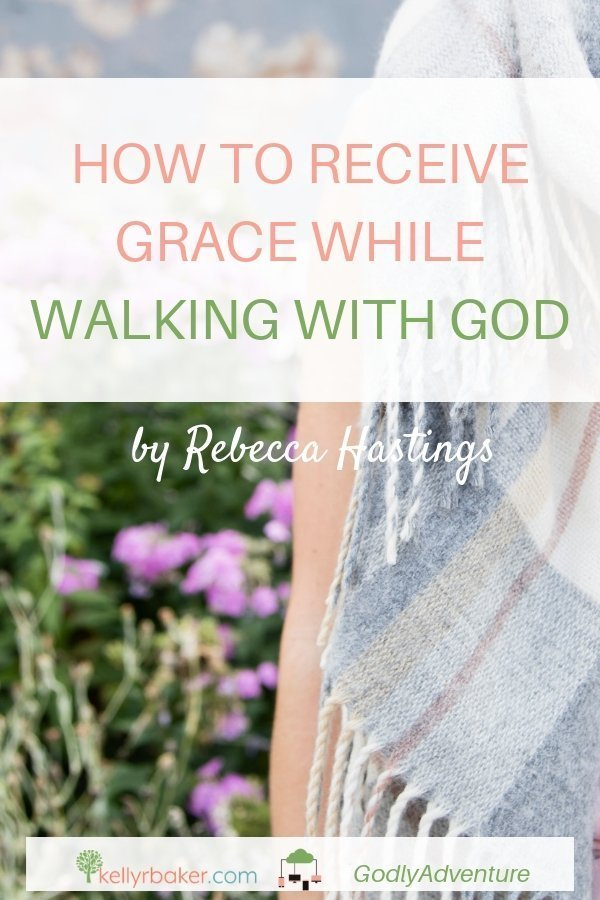 Do you struggle to receive grace while walking with God? This article will open you up to new possibilities in whatever situation you face. #GodlyAdventure #WalkingwithGod #BloggerVoicesNetwork #ThrivingInChrist #Bible #Christian #Jesus #grace