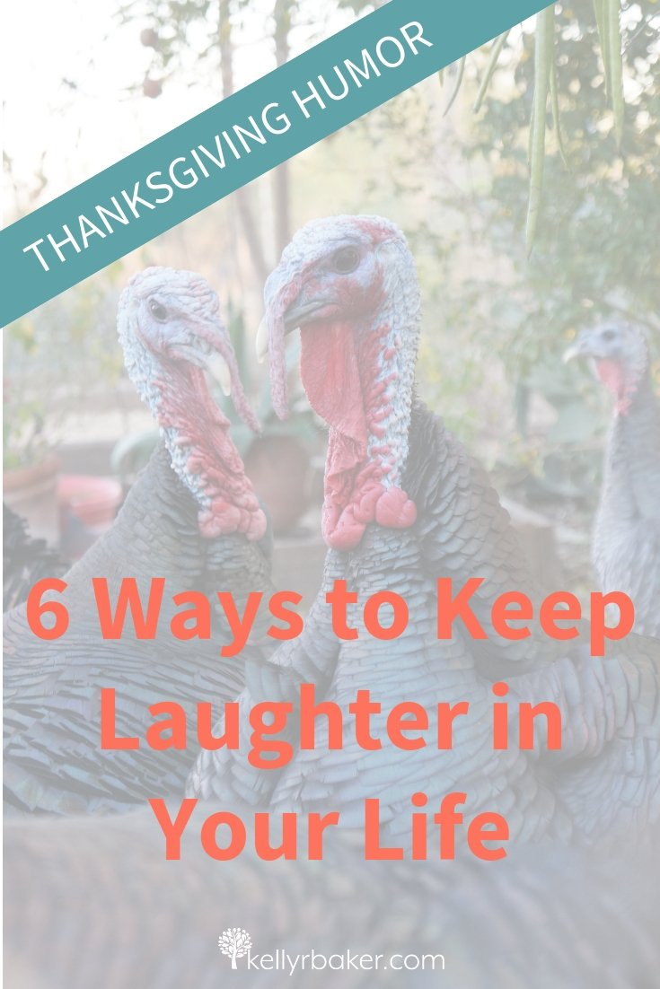 Here's some THANKSGIVING HUMOR! The holidays are wonderful, but it's easy to get bogged down with stress, to-do lists, and fatigue. Let's look at how to keep laughing on a regular basis! #laughter #humor #Thanksgiving #jokes #memes #quotes #thankful #laugh #cleancomedy #ThrivingInChrist
