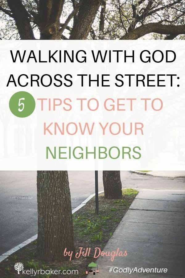 Do you tend to shy away from your neighbors? Here are some helpful tips to make it easier to connect with them and let your light shine. #GodlyAdventure #WalkingwithGod #BloggerVoicesNetwork #ThrivingInChrist #Bible #Christian #Jesus #neighbors #letyourlightshine