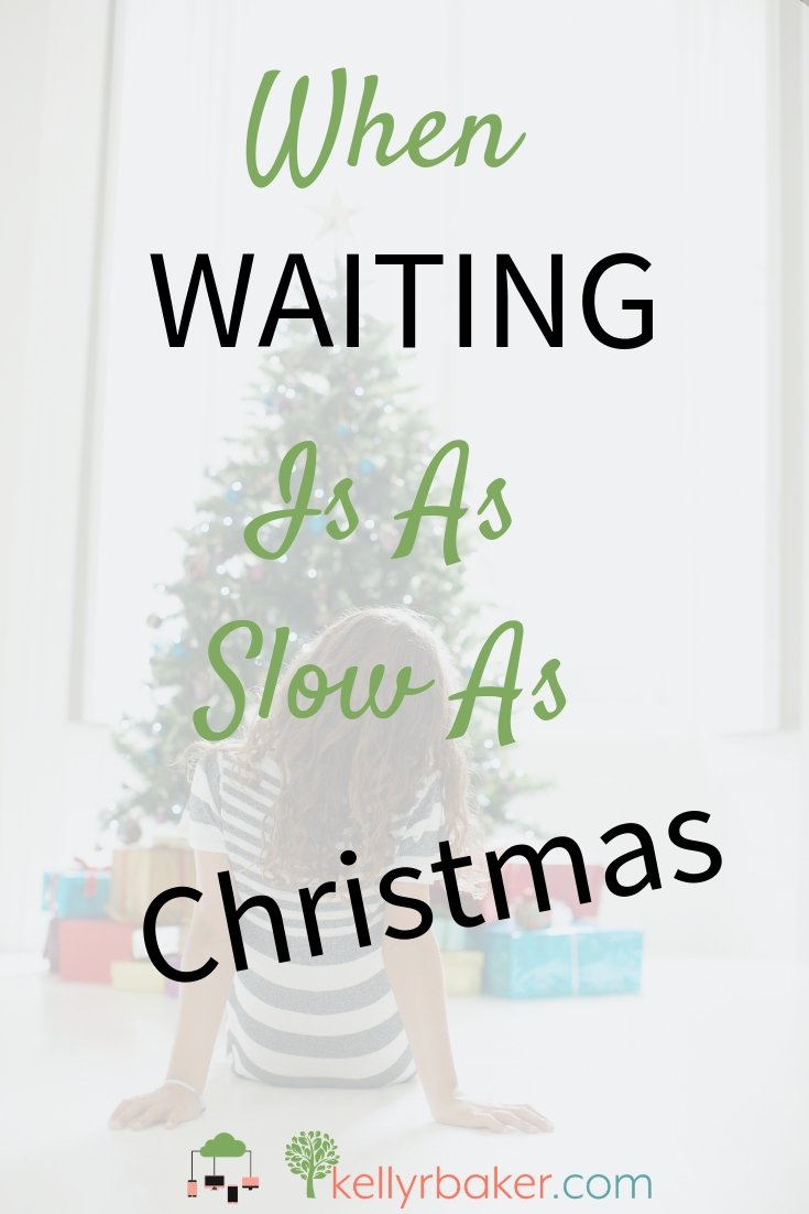 Proverbs says hope deferred makes the heart sick. Here's what helps when waiting is as slow as Christmas. #ThrivingInChrist #waiting #spiritualgrowth #desires #timing #dreams #biblicaltruth #growingspiritually #maturinginchrist #Christmas