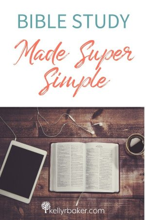 Bible Study Made Super Simple.
