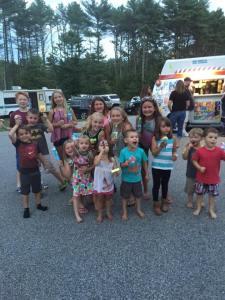 Happy Customer's of Kelly's Ice Cream Truck