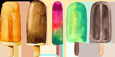Ice Cream Truck Treats from Kelly's Ice Cream Truck