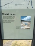 3rd stop was Biscuit Basin