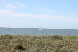 Boats ~ View from beyond the dunes