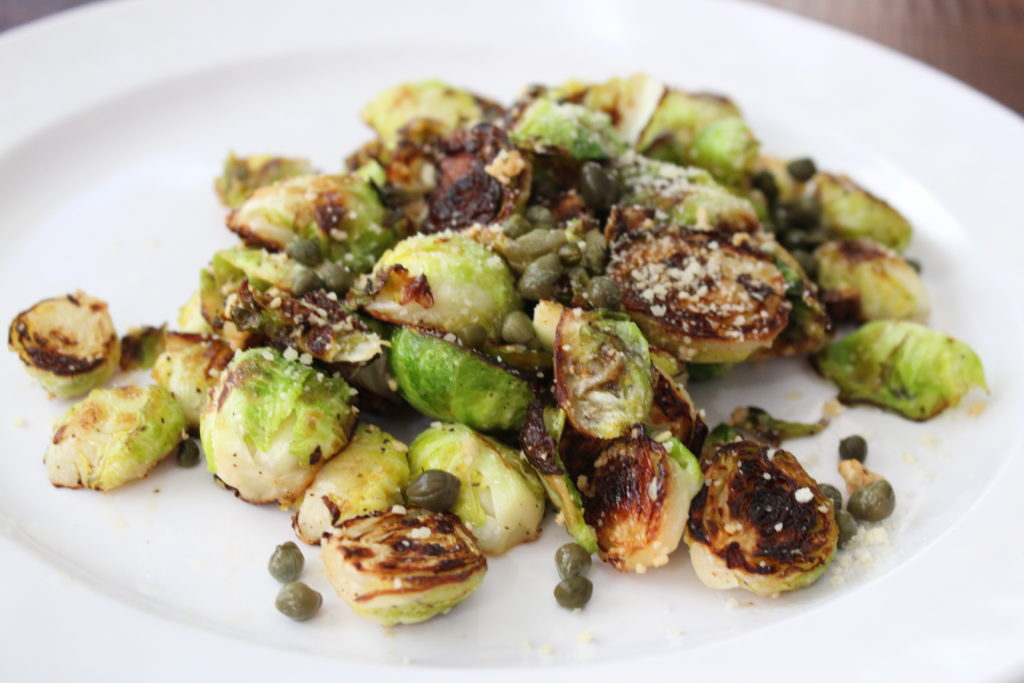 Skillet Brussel Sprouts