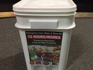 72 Hour Emergency Food, Water & Stove Kit