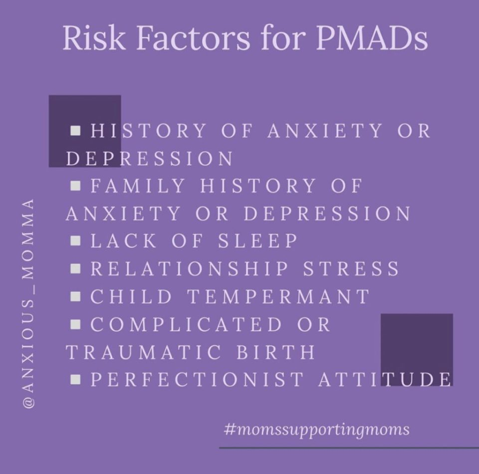 risk factors for PMADs