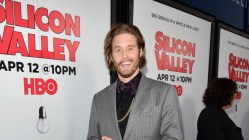 "HOLLYWOOD, CA - APRIL 02: Actor T.J. Miller attends the premiere of HBO's ""Silicon Valley"" 2nd Season at the El Capitan Theatre on April 2, 2015 in Hollywood, California. (Photo by Alberto E. Rodriguez/Getty Images)"