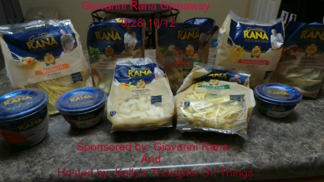 Giovanni - Rana - Giveaway - Kelly's Thoughts On Things