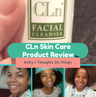 Cleared Up My Kids Acne- CLn Skin Care #ProductReview