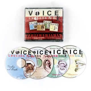Want to Learn How To Sing-Voice Lessons To Go CD Set #HolidayGiftGuide