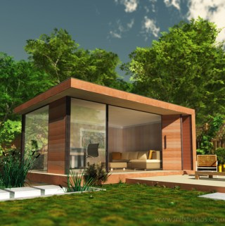 Things to Consider When Creating an Office in Your Garden