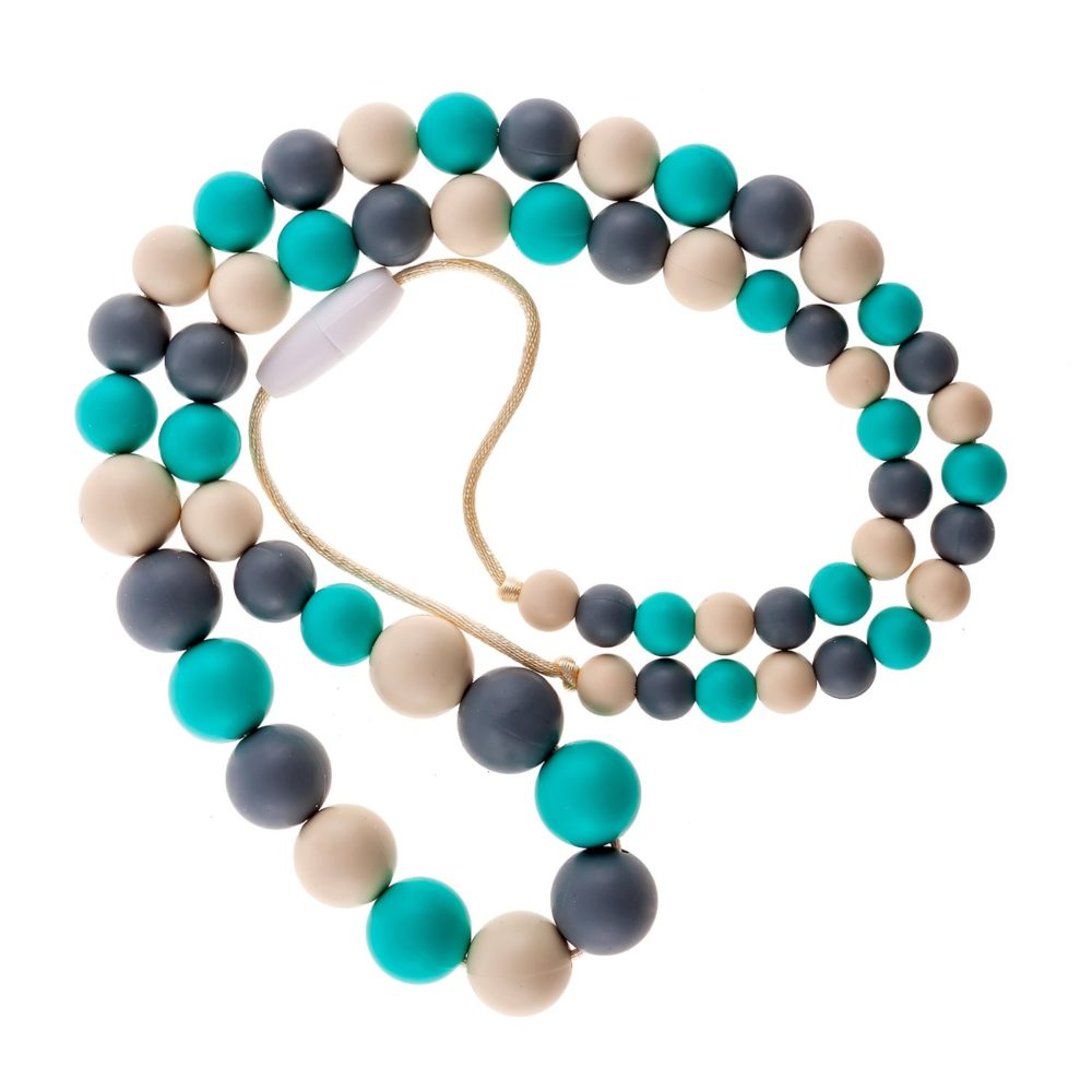 Choos Playdate Silicone Teething Necklace